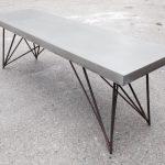 Ławka z betonu GRC