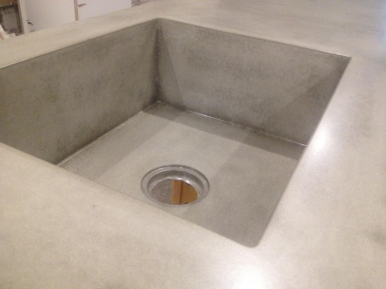 zlew betonowy