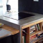 Blat kuchenny z betonu architektonicznego